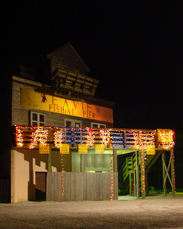 Christmas at the Seaview Fising Pier